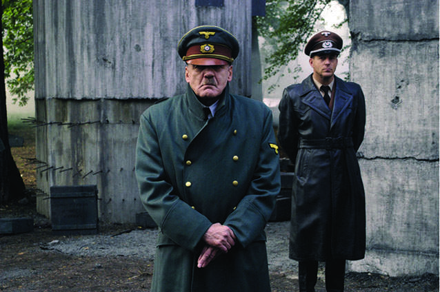 Bruno Ganz as Hitler in Downfall, which captured the Third Reich's final days